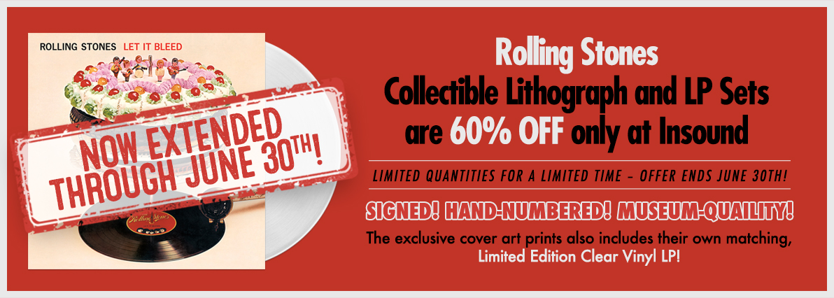 Rolling Stones Limited Edition Lithos