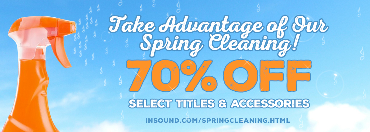 Spring Cleaning – 70% OFF