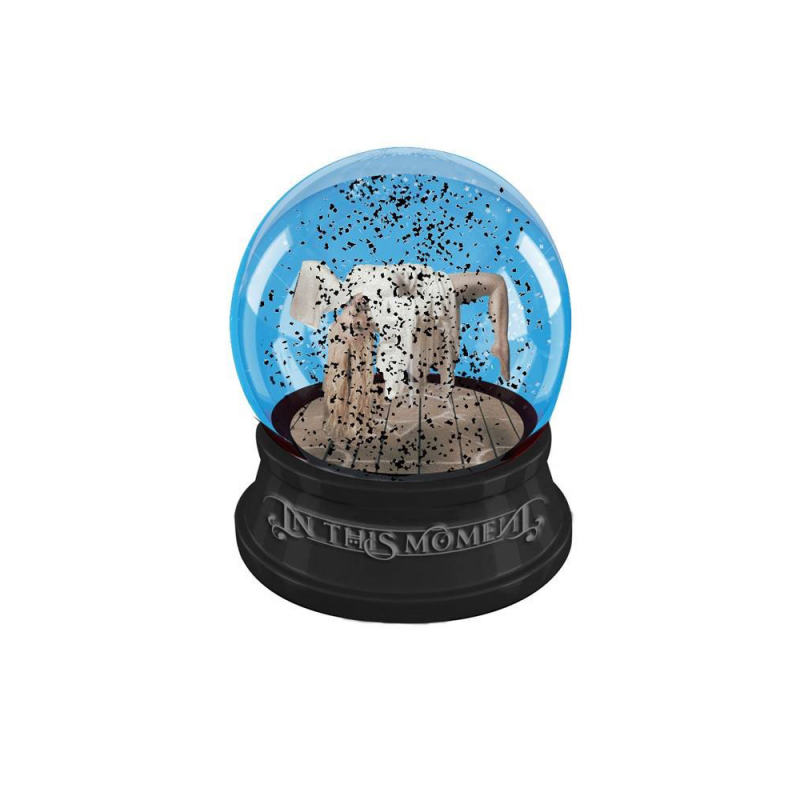 Black Snow Snowglobe
