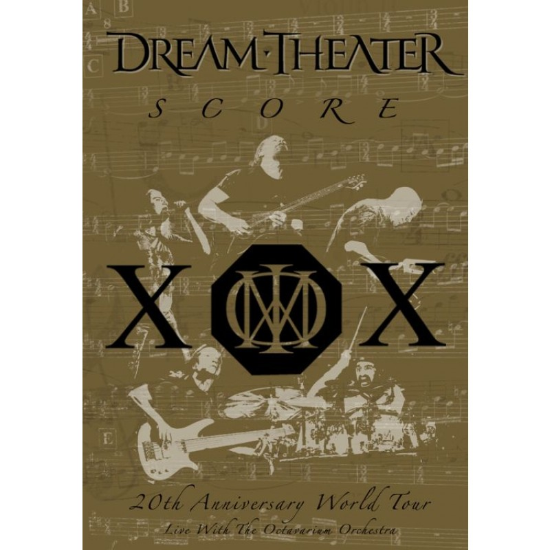 Score: 20th Anniversary World Tour Live with the Octavarium Orchestra 2DVD