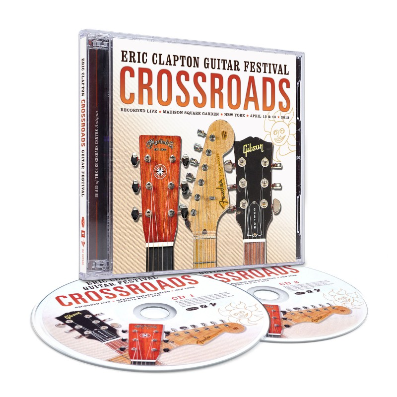 2013 Crossroads Guitar Festival 2 CD set