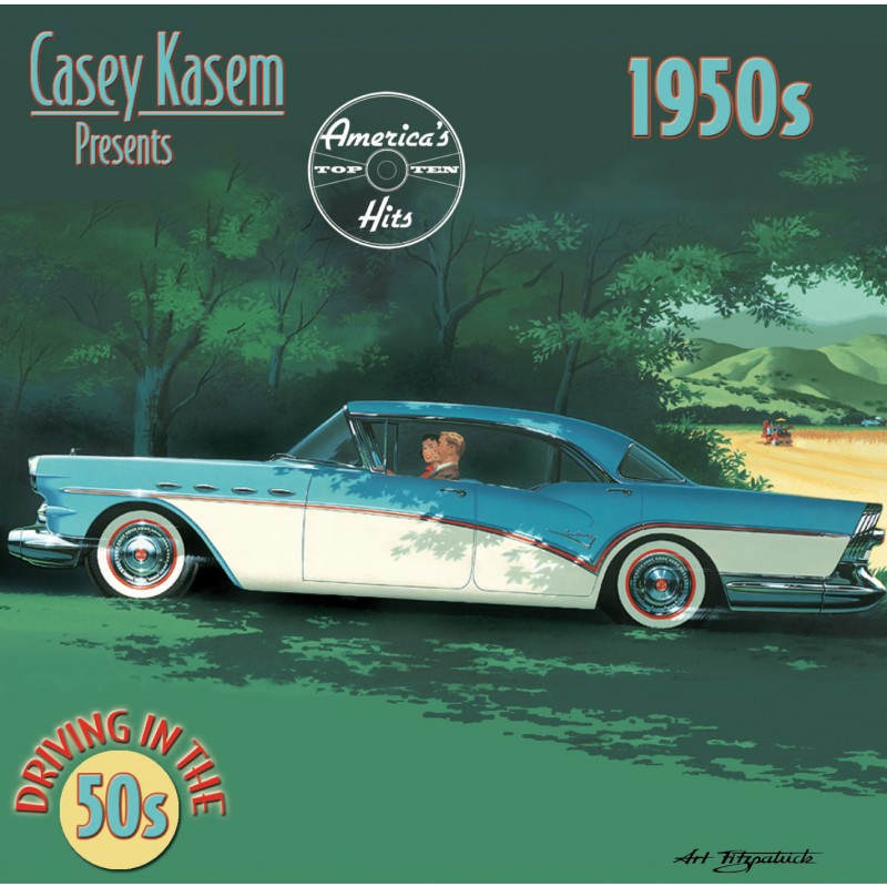Casey Kasem Presents: America's Top Ten Hits - Driving In The 1950's (CD)
