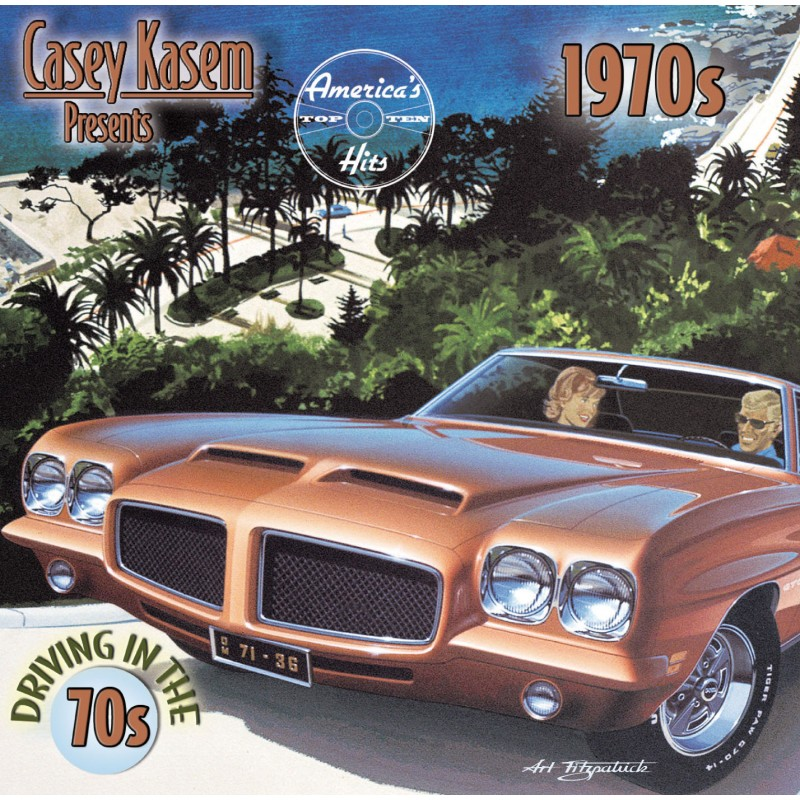 Casey Kasem Presents: America's Top Ten Hits - Driving In The 1970's (CD)