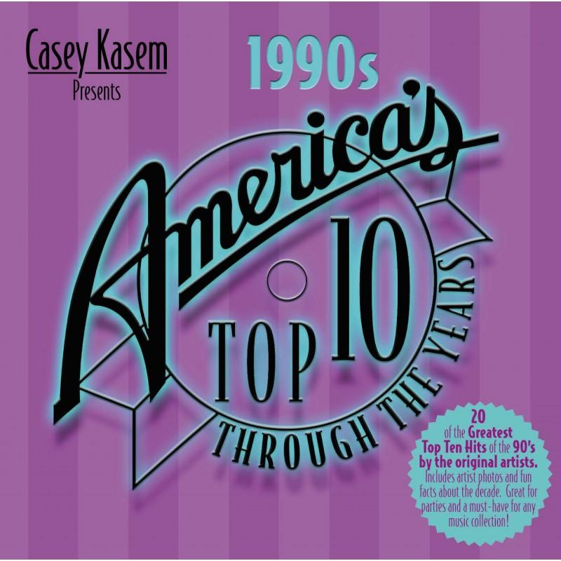 Casey Kasem Presents: America's Top Ten - The 1990s (CD)