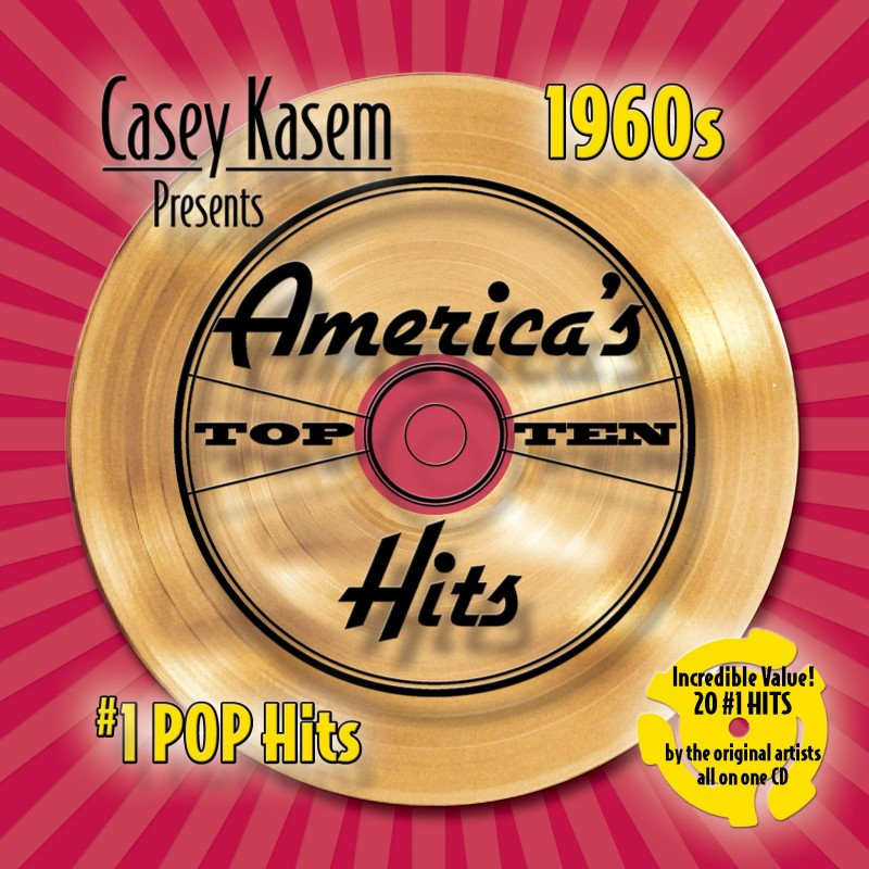 Casey Kasem Presents: America Top Ten Hits - The 1960's # 1 Pop Hits (CD)