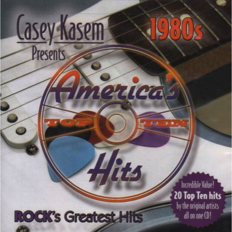 Casey Kasem Presents: America's Top Ten - Rock's Greatest Hits - 1980s (CD)