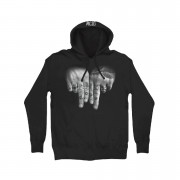 Hand Tattoo Pullover Hoodie
