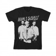 Trio Black Photo T-Shirt