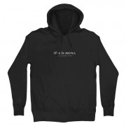 This Is Merch Hoodie (Black)
