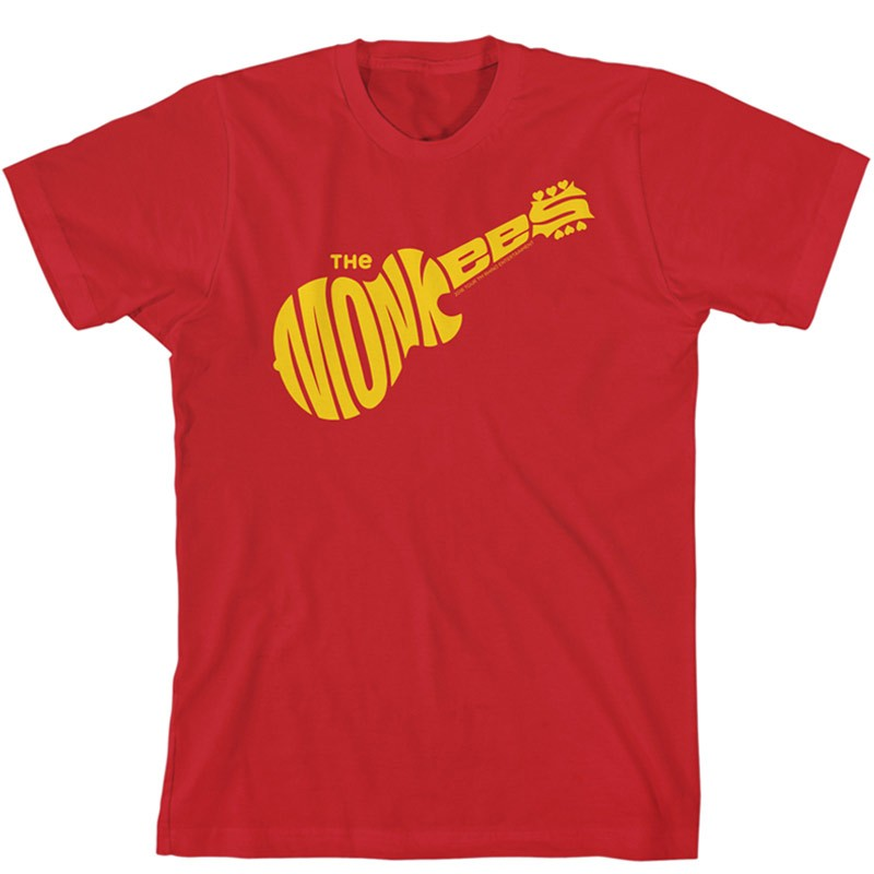 Monkees Logo T-Shirt Red