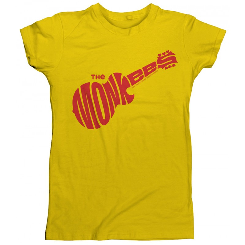 Monkees Logo T-Shirt Yellow