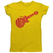 Monkees Logo T-Shirt Yellow