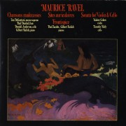 Ravel: Chansons Madecasses, Sonata for Violin and Cello; 2 Pianos Digital MP3 Album