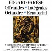 Varèse: Offrandes / Intégrales / Octandre / Ecuatoria Digital MP3 Album