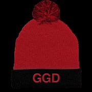 GGD initials Pom Beanie