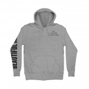 Beautiful Mind Embroidered Basic Pullover Hoodie