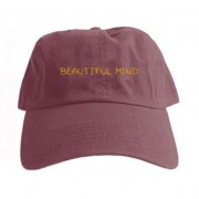 Beautiful Mind Hat (Maroon)