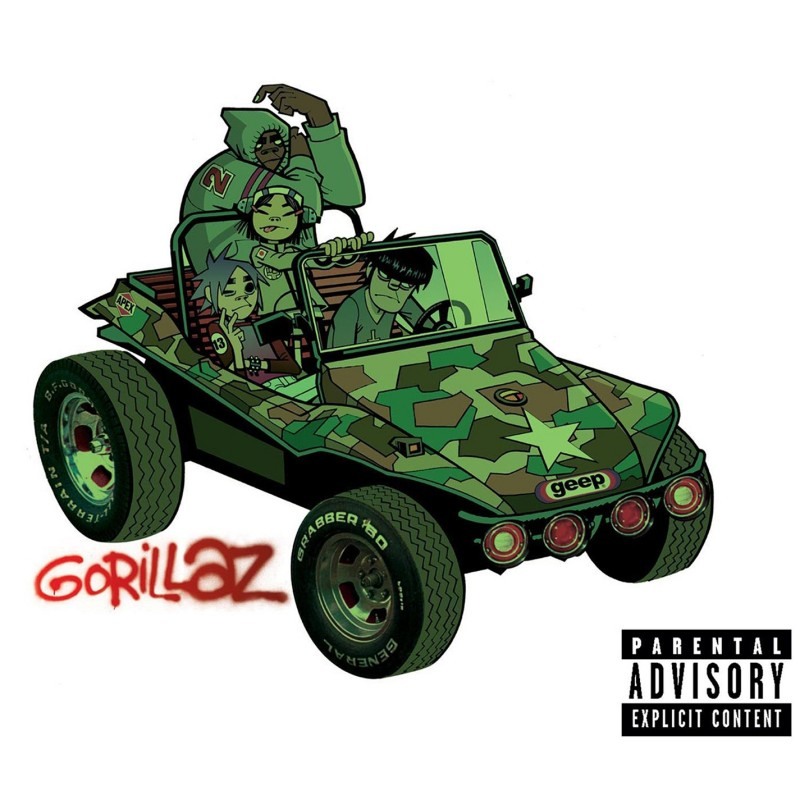Gorillaz 2LP Vinyl