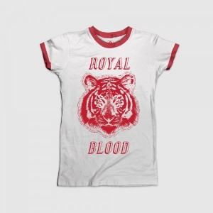 Six Eyed Tiger Red Ringer Tee