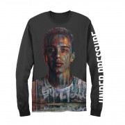 Painted Bust Long Sleeve T-Shirt