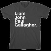 Liam, John, Paul Gallagher T-shirt