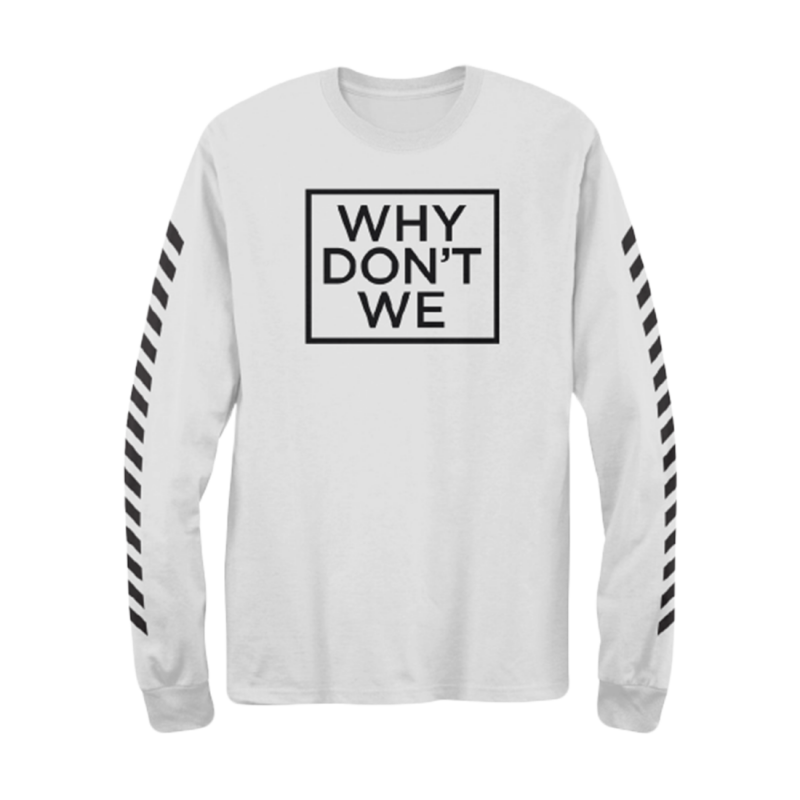 Why Don't We Long Sleeve (White)