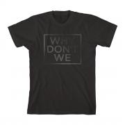Why Don't We Black Print T-Shirt