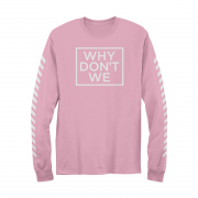 Why Don't We Long Sleeve (Pink)