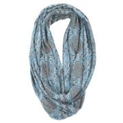 Weave Rose Infinity Scarf