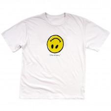 Fake Happy T-Shirt (White)