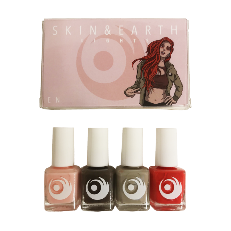 En 4 Color Nail Polish Set