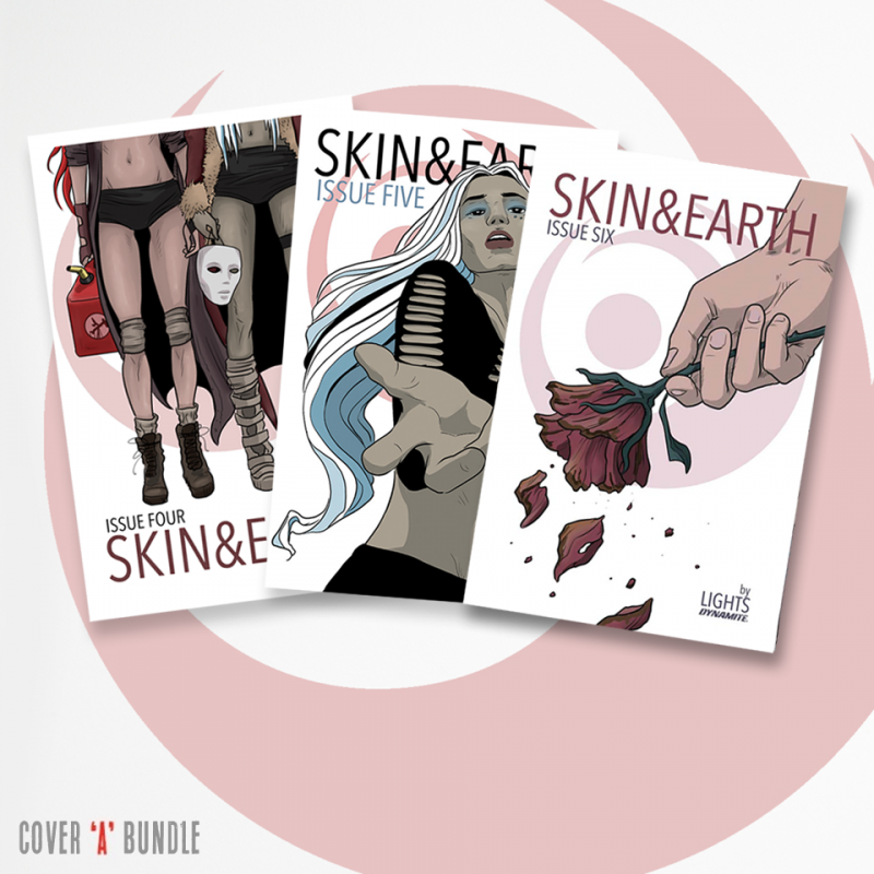 Skin & Earth Issues 4-6 Cover A Bundle