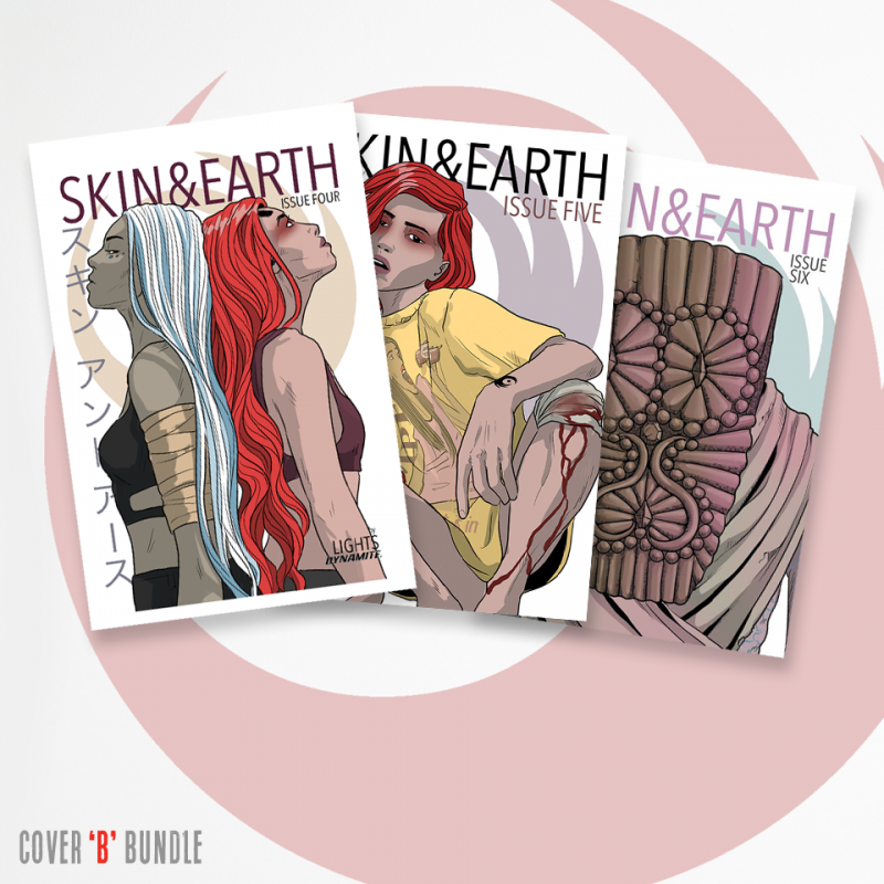 Skin & Earth Issues 4-6 Cover B Bundle