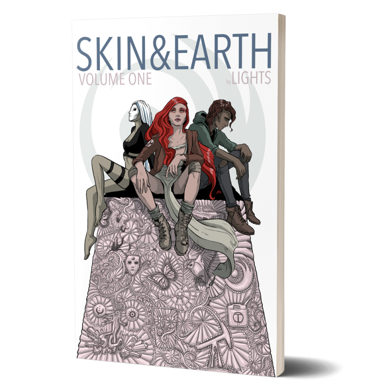 SKIN&EARTH Volume 1 Trade Paper Back Edition