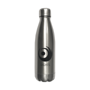 Silver Premium Emblem Water Bottle