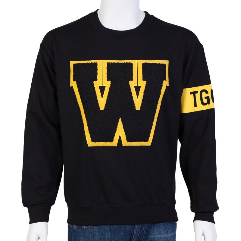 Athletic W Crewneck Sweatshirt