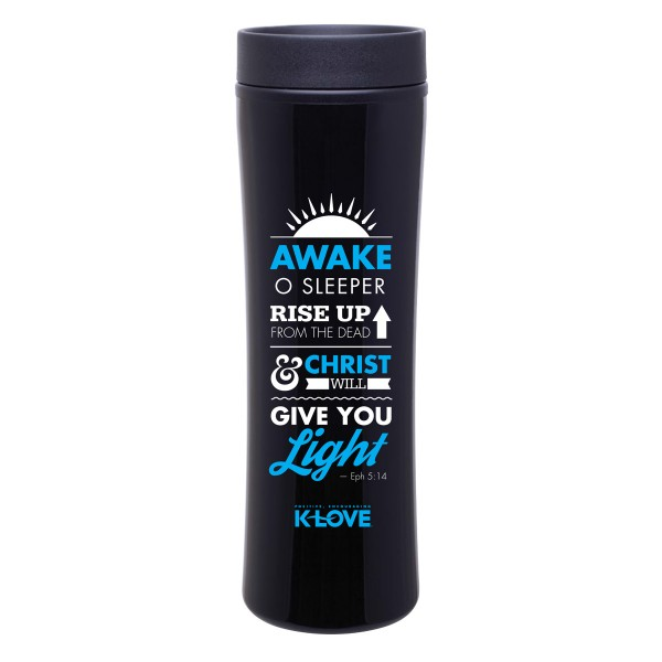 Awake O Sleeper Travel Mug K-LOVE
