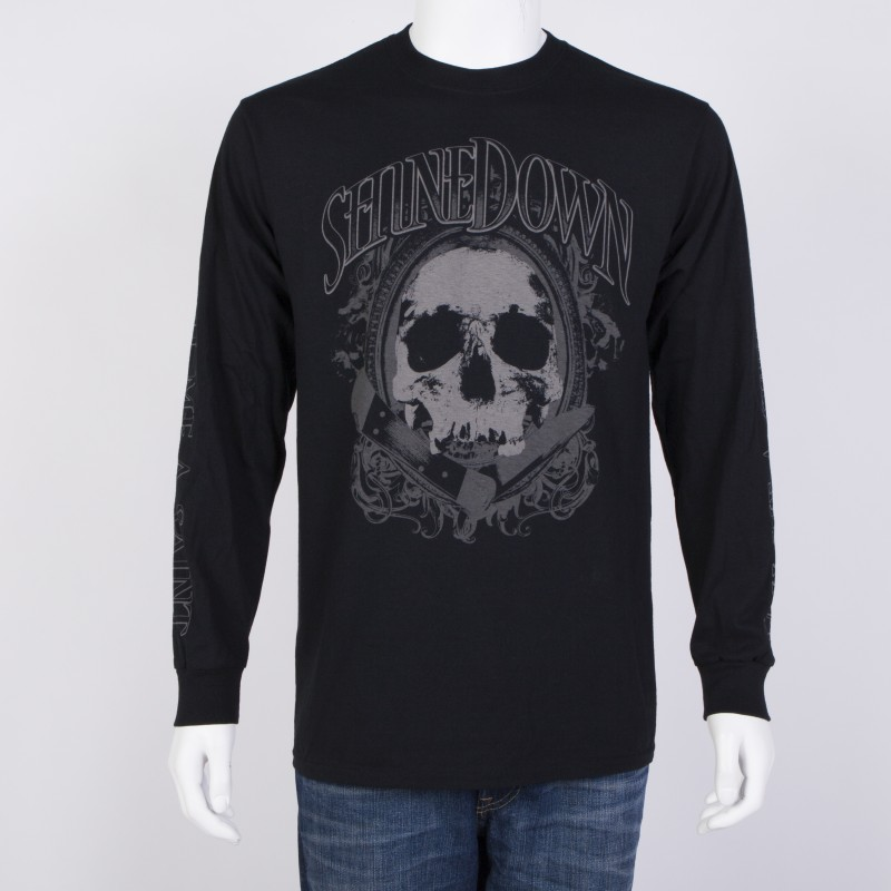 Pocket Knife Skull Long-sleeve Shirt