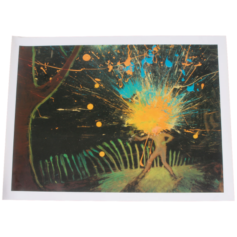 THE FLAMING LIPS I BECAME OUTERSPACE LITHOGRAPH M62225 .png