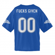 Fucks Given Blue Jersey