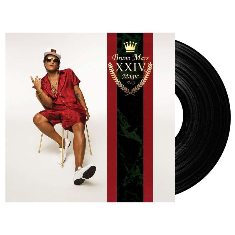 """24K Magic"" Vinyl LP"
