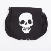 Mouth Skull Messenger Bag