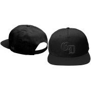 Blacked Out Logo Snapback