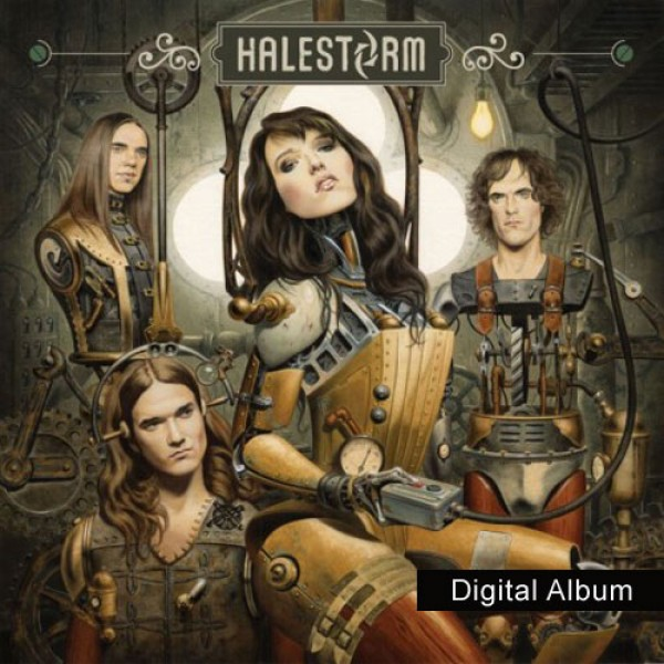 Halestorm Digital MP3 Album