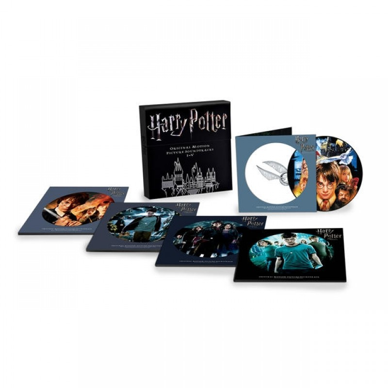 Harry Potter: Original Motion Picture Soundtracks I-V (10LP Picture Disc Box Set)