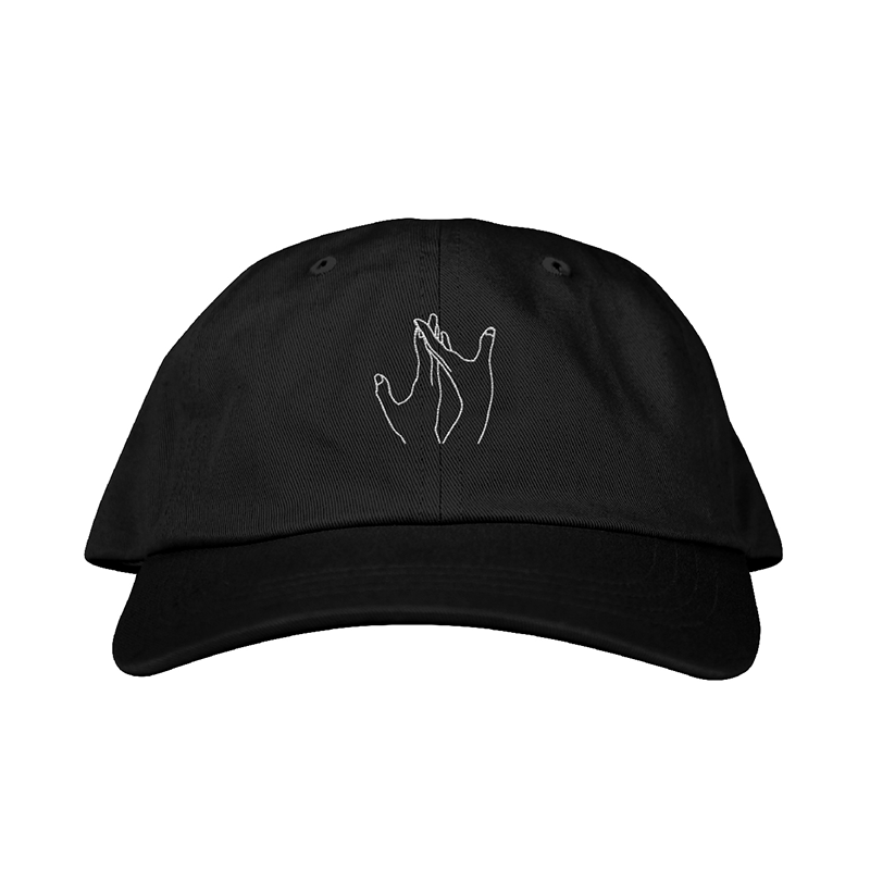 Illustrated Hands Dad Hat