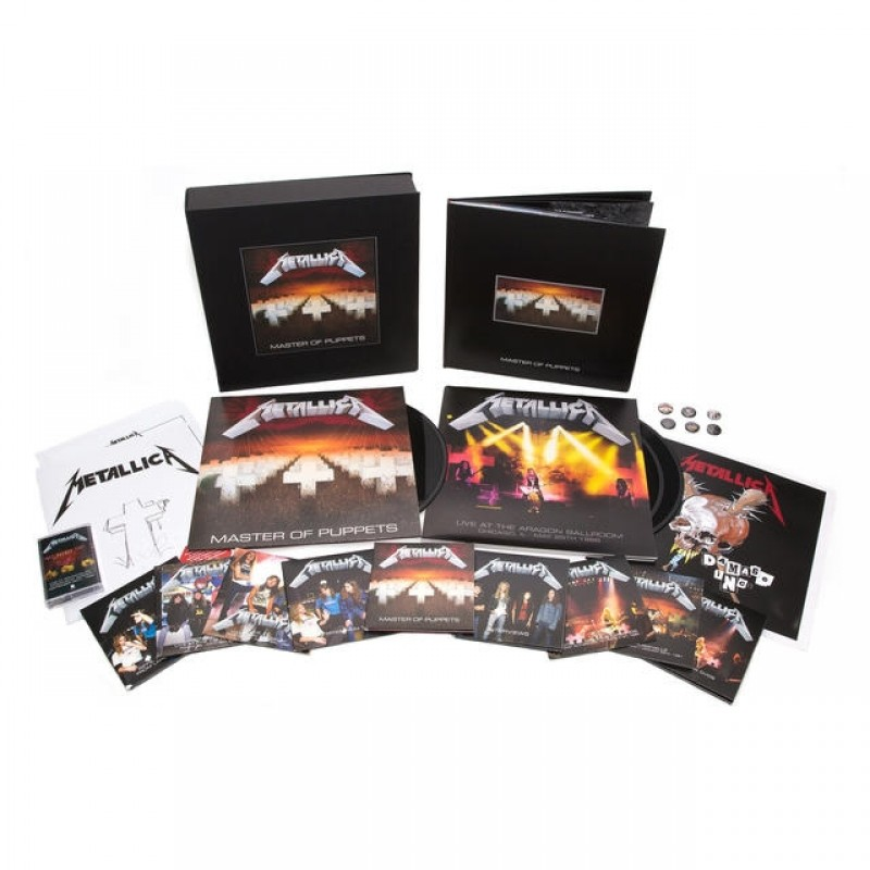 Master Of Puppets (Remastered Deluxe Boxset)(10CD/2DVD/3LP/1Cassette)