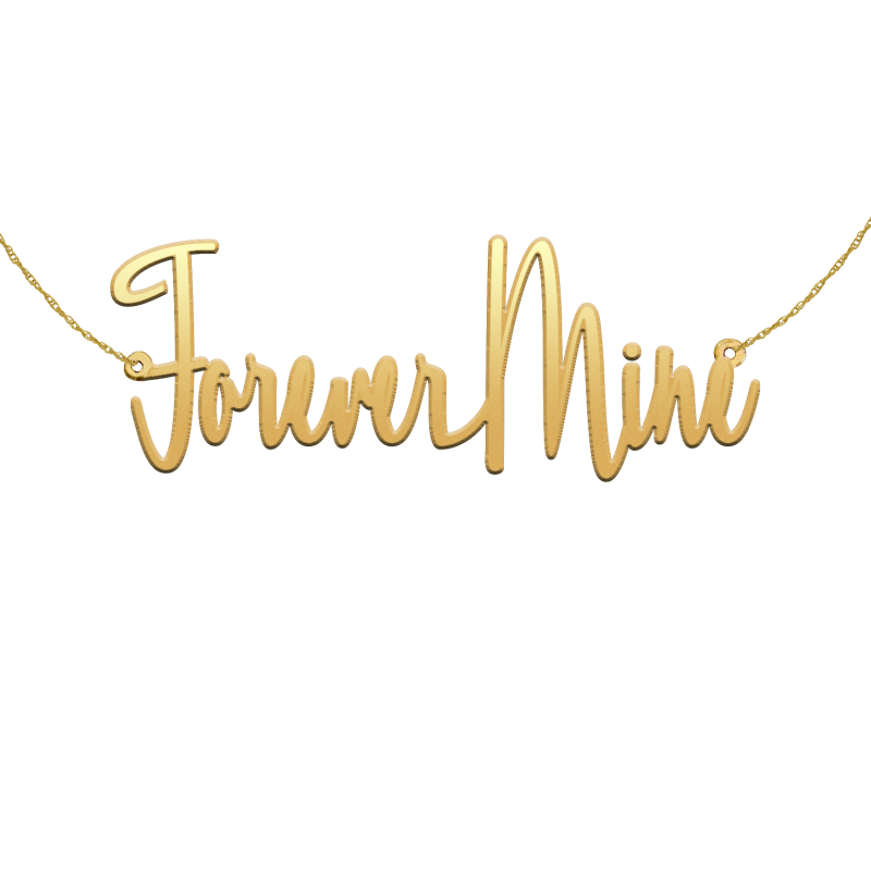 Forever Mine Gold Necklace