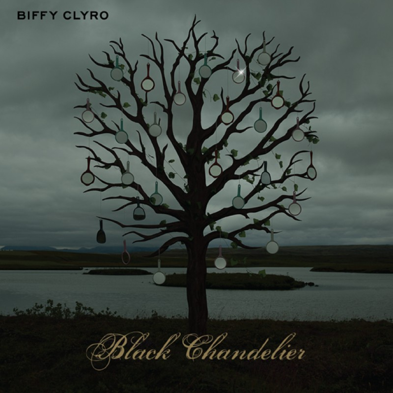 Black Chandelier Digital Single