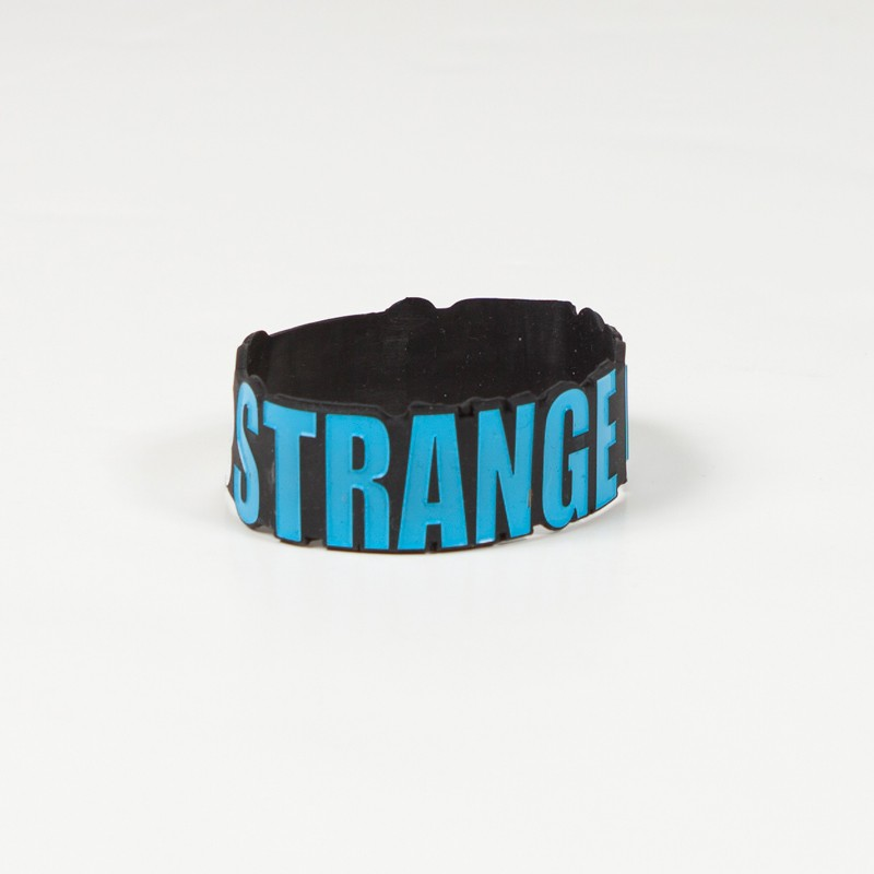 Strange Clouds Rubber Bracelet